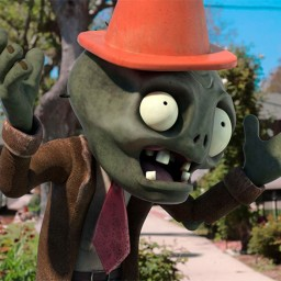 Image from Plants vs. Zombies 2: It's about Time. Directed by David Boker and Matt Berenty at Wolf & Crow