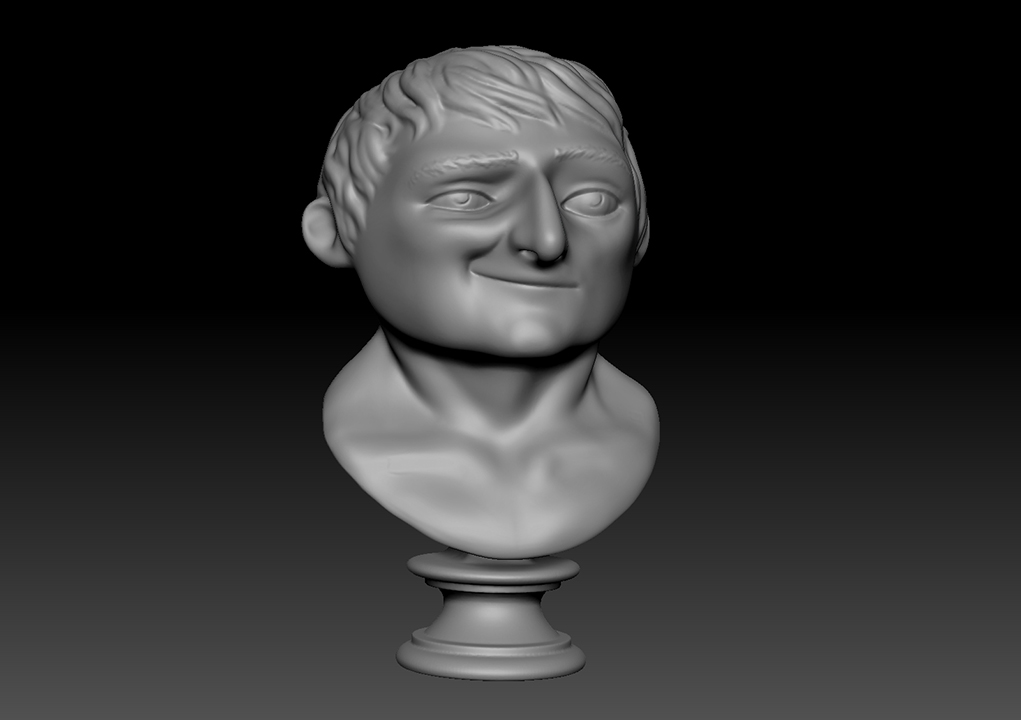 Napoleon Bust | Ready for 3D Printing Part 1