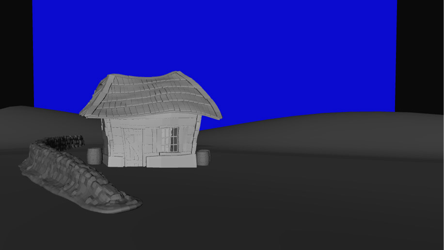 Testing the camera out in Autodesk Maya for the Latvian Komedie Minute