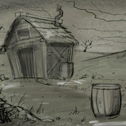 Background concept for the Latvian Komedie Minute done by Victor Malcervelli.
