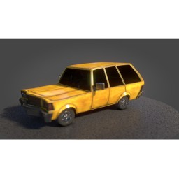 Station Wagon modeled and rendered for my new short film Napoleon: The Ticket.